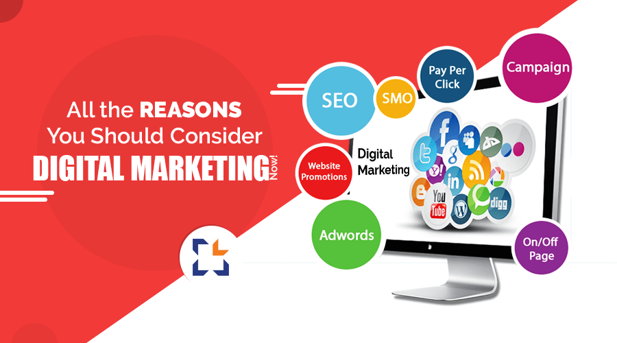 All the Reasons You Should Consider Digital Marketing Now! - Magazine cover